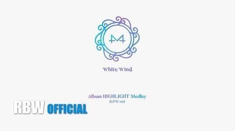 HighLight 'WHITE WIND' HIGHLIGHT MEDLEY(LIVE ver