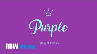 Highlight 'Purple (퍼플)' 하이라이트 메들리