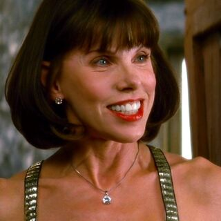 Christine Baranski in the role of Tanya Chesham-Leigh (<a href=