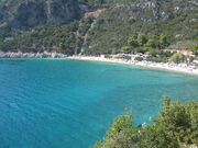 Beach on Skopelos Island, Greece