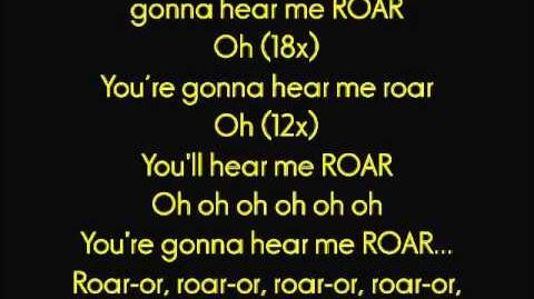"""Katy Perry - """"ROAR"""" (LYRICS)"""