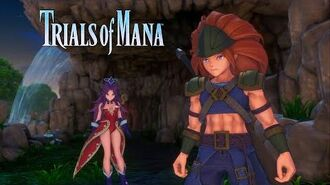 Trials of Mana Character Spotlight Trailer Angela & Duran (1 3)