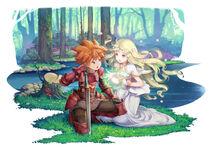 Adventures of Mana Heroine Artwork