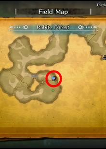 Rabite Forest Map Treasure07 TOM