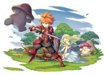 Adventures of Mana Hero Artwork