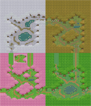 Map of Forest of Seasons