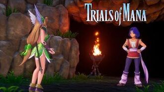Trials of Mana - Character Spotlight Trailer Hawkeye and Riesz (3 3)