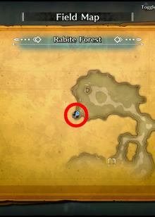 Rabite Forest Map Treasure04 TOM-0