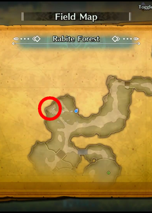Rabite Forest Map Green Urn 03 Red Urn 03 TOM