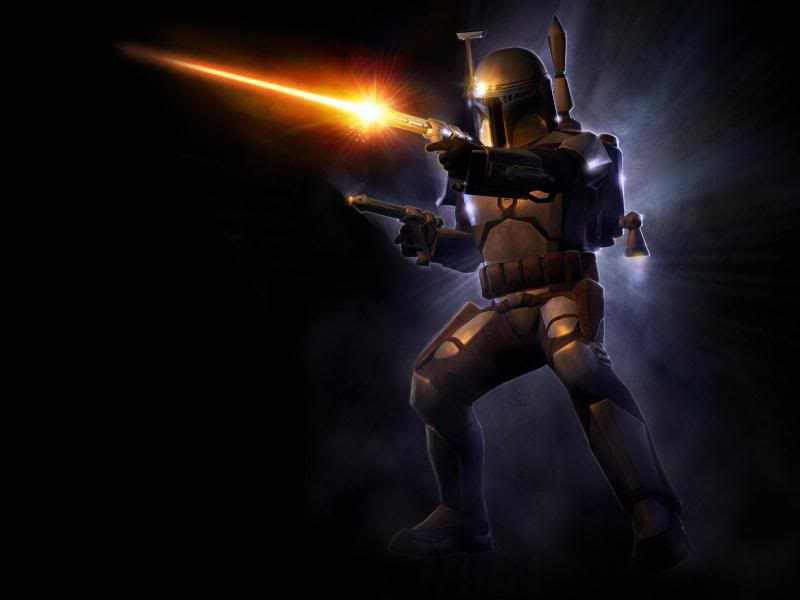 Star Wars Jango Fett Wallpaper 02