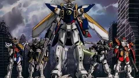 Mobile Suit Gundam Wing opening 1