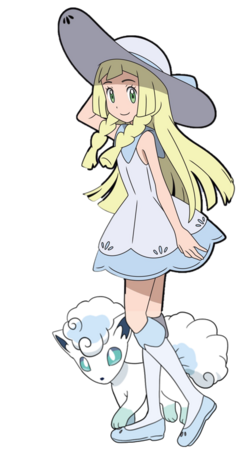 Lillie and Shiron Anime 2.0