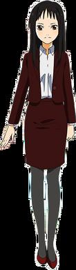 Diseño de Emi en el anime