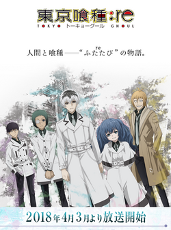 Tokyo Ghoul-re Anime
