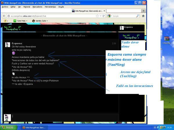 Captura del chat 2