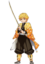 Agatsuma Zenitsu anime