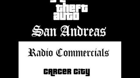 Grand Theft Auto San Andreas - Radio Commercials (Carcer City)