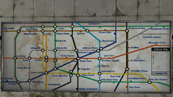 Carcer City Subway Map