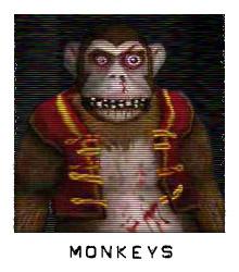 Characters monkeys