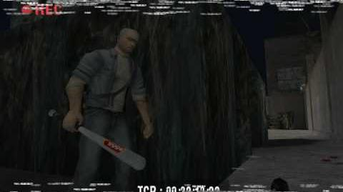 """""""Manhunt 1"""", full walkthrough (Hardcore difficulty), Scene 4 - White Trash, Part 1 2"""