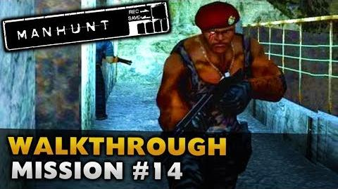 Manhunt - Gameplay Walkthrough - Scene 14 Divided They Fall