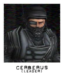 Characters cerbersleader