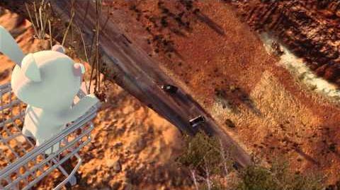 Trackmania 2 Canyon - Rabbids Cart Trailer