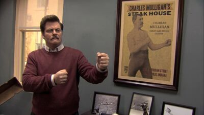 Ron swanson mike conley