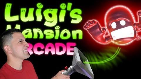 Luigi's Mansion Arcade Gameplay