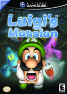 Luigi's Mansion box cover