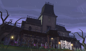 Gloomy Mansion Luigi's Mansion Dark Moon