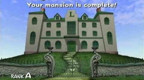 Luigi's Mansion - A Rank Mansion (PAL)