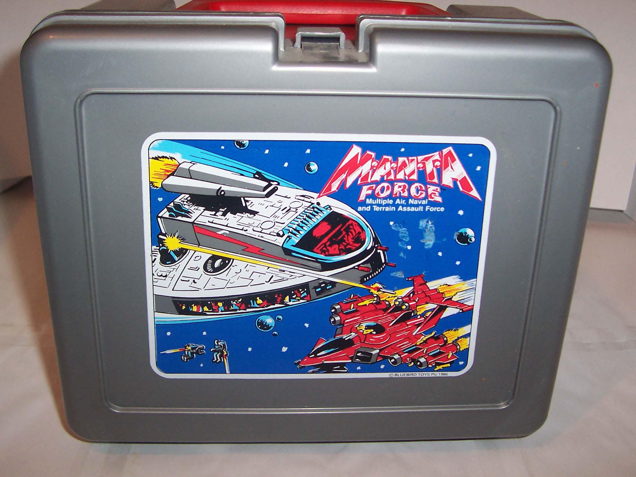 Manta Force - Lunch Box 001