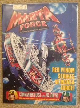 Manta Force - Red Venom Strikes at Manta Force 001