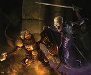 Dwarf vs undead