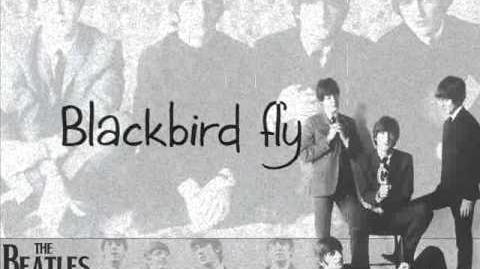 The Beatles - Blackbird (lyrics)