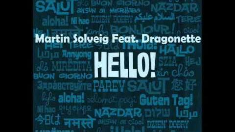 Martin Solveig Feat. Dragonette - Hello (Original Mix) Lyrics