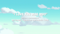 I Love You Mao Mao
