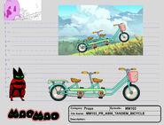 MM103 PR A000 TANDEM BICYCLE