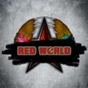 Red world logo