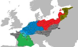 Situación del Riocht mor Daraen en 1506 - Luchando II
