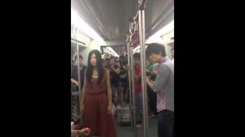 Fight on Guangzhou metro escalates quickly
