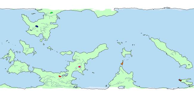 Glisean Dreams Map (1 A.P)