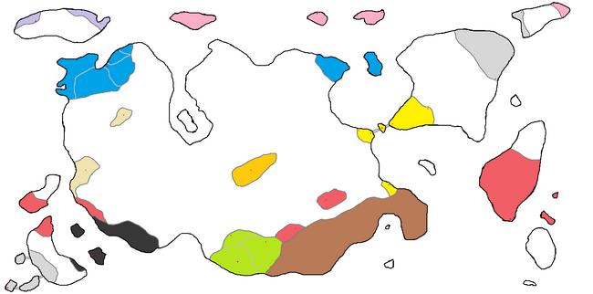 Fantasy Map Political 1-1