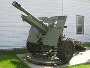 QF 25 Pounder Gun