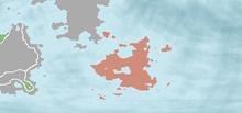 South Orientalia Location (New World Map Game)