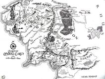 Lord of the Rings II Reference Map