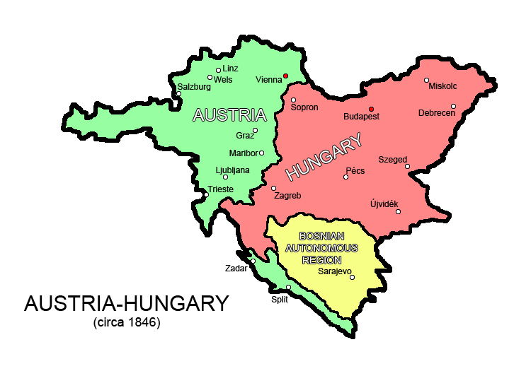 Austria hungary almost map game map game wiki fandom powered capital vienna budapest gumiabroncs Image collections