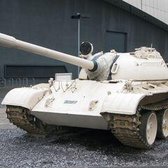A heavy tank.