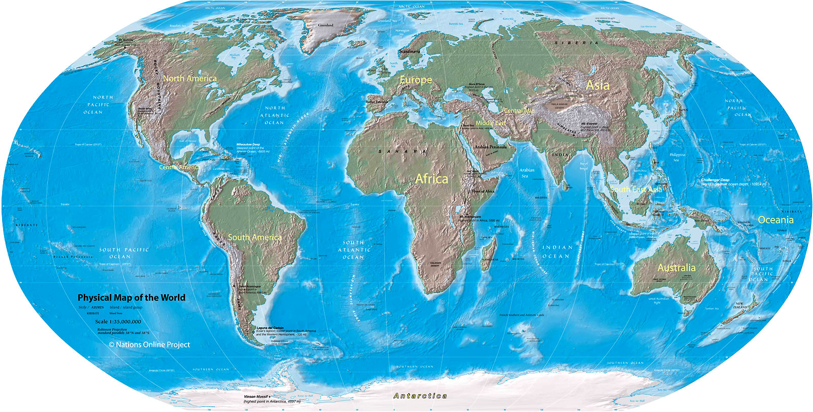 Image - Physical world map 1600px.jpg   Map Game Wiki   FANDOM ...
